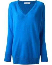 Jersey Oversized Azul de Equipment