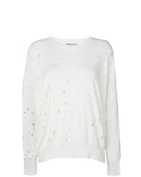 Jersey oversized blanco de T by Alexander Wang