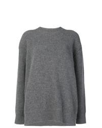 Jersey oversized de punto gris de N°21