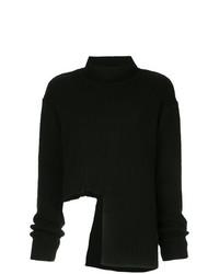 Jersey oversized de punto negro de Ellery