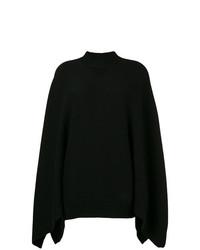 Jersey oversized de punto negro de Givenchy
