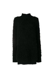 Jersey oversized de punto negro de Marni