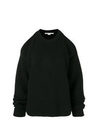Jersey oversized de punto negro de Stella McCartney
