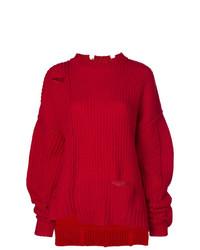 Jersey oversized de punto rojo de Ambush