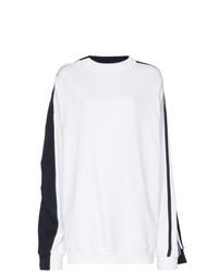 Jersey oversized en blanco y azul marino de Y/Project