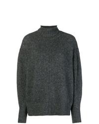 Jersey oversized en gris oscuro de Isabel Marant