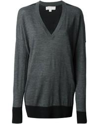 Jersey oversized en gris oscuro de MICHAEL Michael Kors
