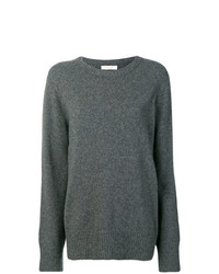 Jersey oversized en gris oscuro de The Row
