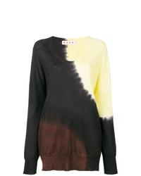 Jersey oversized en multicolor de Marni