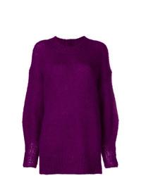Jersey oversized en violeta de Isabel Marant
