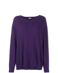 Jersey oversized en violeta de P.A.R.O.S.H.