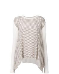 Jersey oversized estampado blanco de Stella McCartney