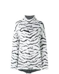 Jersey oversized estampado en negro y blanco de Givenchy