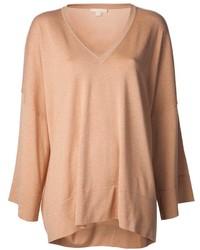 Jersey oversized marrón claro de Michael Kors