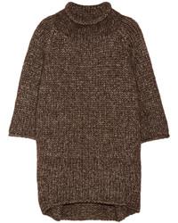 Jersey oversized marrón