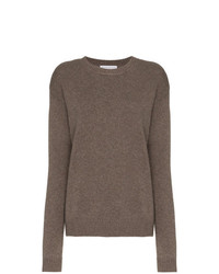 Jersey oversized marrón de Alexandra Golovanoff