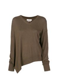 Jersey oversized marrón de Isabel Marant Etoile