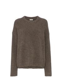Jersey oversized marrón de Totême