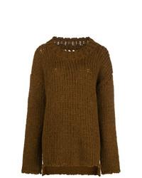 Jersey oversized marrón de Uma Wang