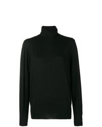 Jersey oversized negro de Agnona