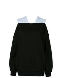 Jersey oversized negro de Ioana Ciolacu