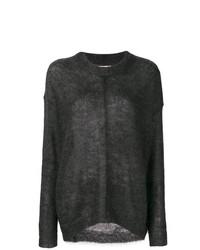 Comprar un jersey oversized negro  elegir jerséis oversized negros ... 19fa7110df66