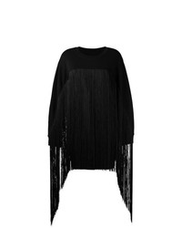 Jersey oversized negro de MM6 MAISON MARGIELA