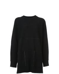 Jersey oversized negro de Proenza Schouler