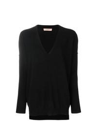 Jersey oversized negro de Twin-Set