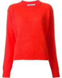 Jersey oversized rojo