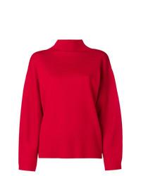 Jersey oversized rojo de Aspesi