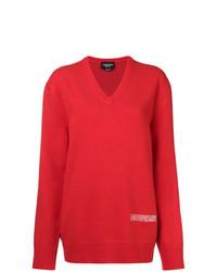 Jersey oversized rojo de Calvin Klein 205W39nyc