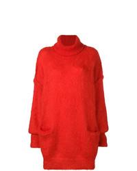 Jersey oversized rojo de Maison Margiela
