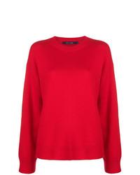 Jersey oversized rojo de Sofie D'hoore