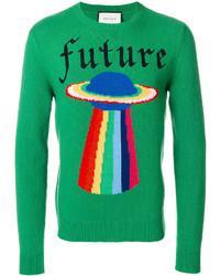 Jersey verde de Gucci