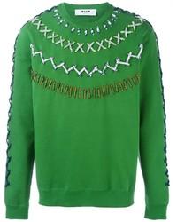 Jersey verde de MSGM