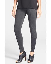 Leggings en gris oscuro