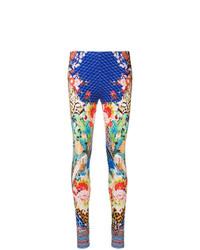 Leggings estampados en multicolor de Camilla