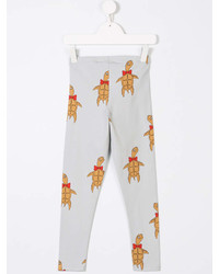 Leggings estampados grises de Mini Rodini