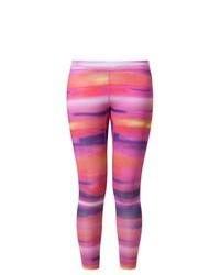 Leggings estampados rosados