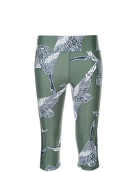Leggings Estampados Verde Oliva de The Upside