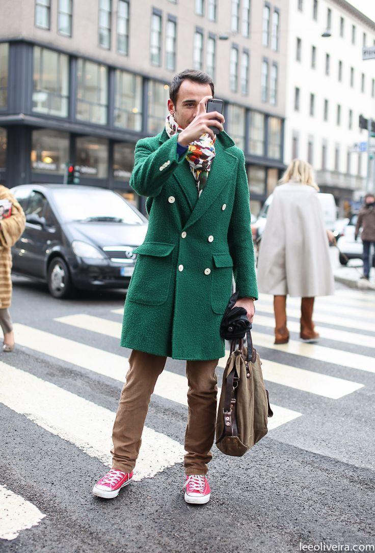 Pantalón Tenis largo Look chino marrón verde Abrigo rosa moda de HnHqxwUXBg