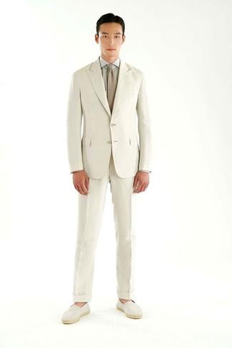 Camisa de vestir gris de Van Heusen