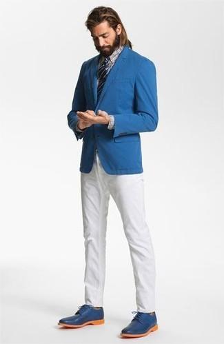 Zapatos azules celeste para hombre AgQR6s