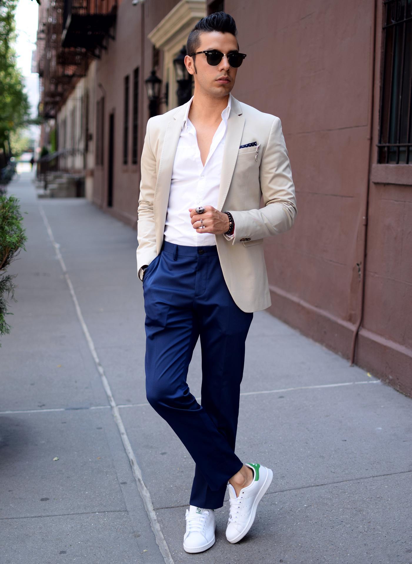 moda converse blancas hombre