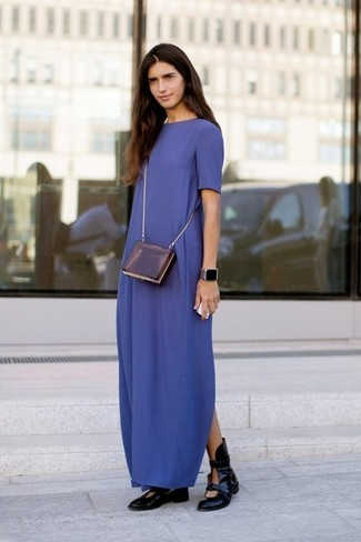 Look vestido largo otono