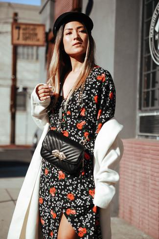 a0ddc128ec Cómo combinar un vestido largo negro (92 looks de moda)