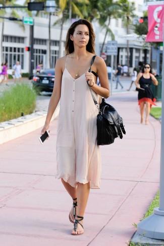 Vestido Cómo Looks En ModaModa Un Camisola Beige5 Combinar De nOP0k8wX