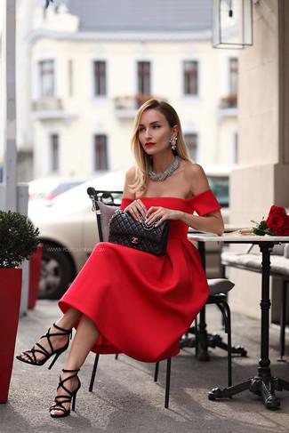 ModaModa Looks De Combinar Un Para Vestido Midi Cómo Rojo54 N8kPwXnO0