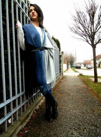 Bufanda azul marino de IRO